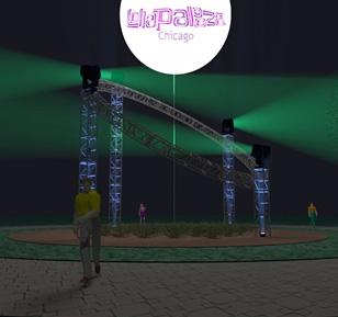 Lollapalooza 2006 Grant Park Chicago WYSIWYG Rendering by Steve Dubay