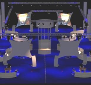 Premier Software Tradeshow Booth / PSAV Ryman Exhibit Hall Opryland Nashville 2008